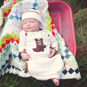 Rodeo Queen Baby Gown