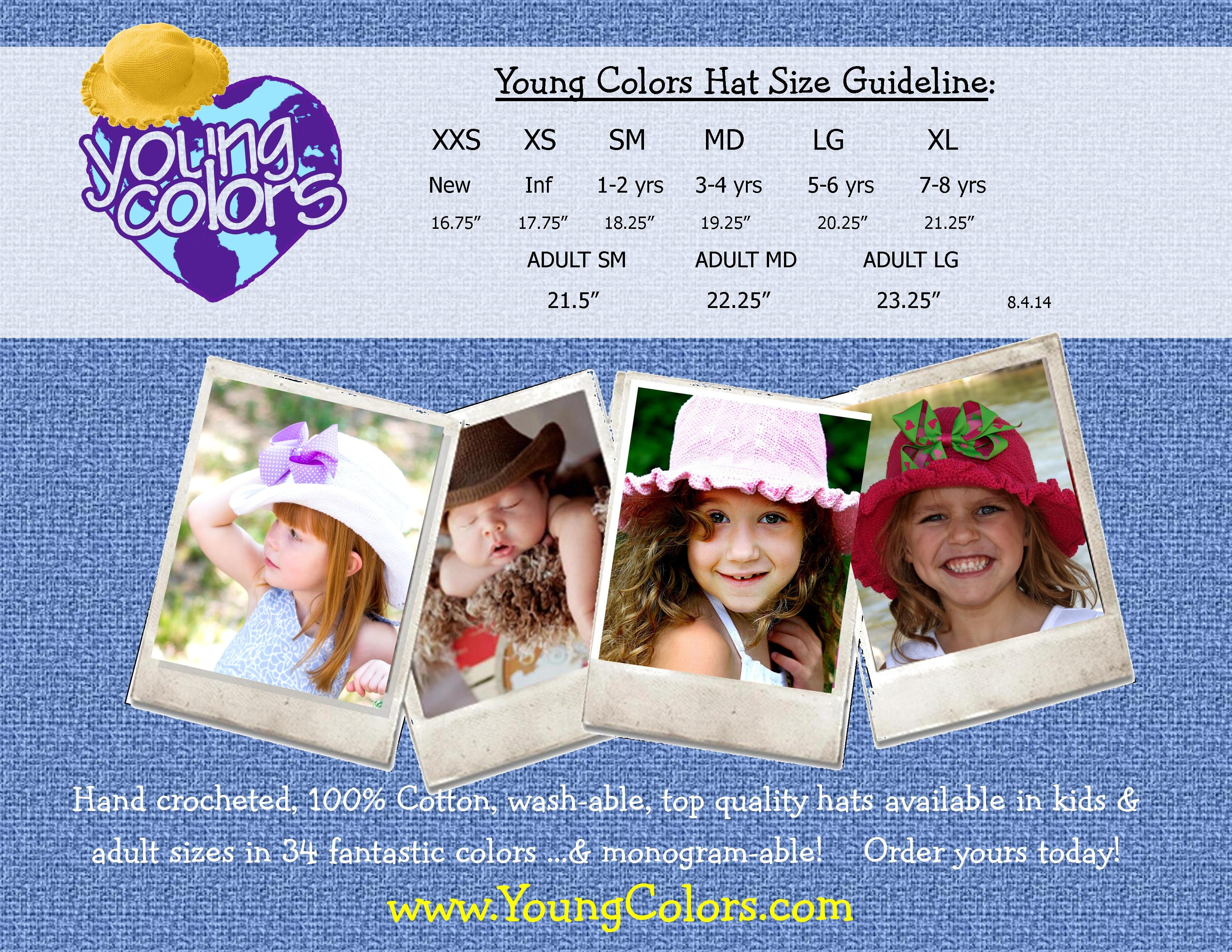 Young Colors Hats