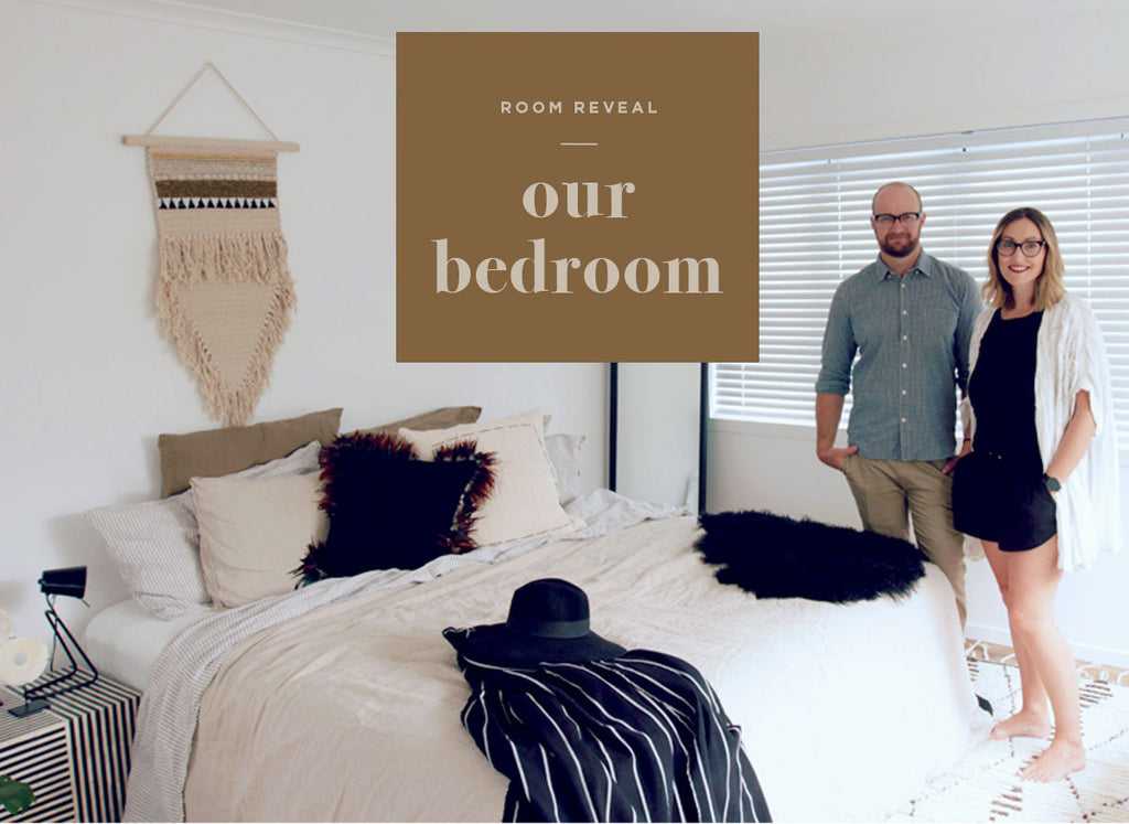 Our bedroom reveal with sealy tagged tag alex corban home