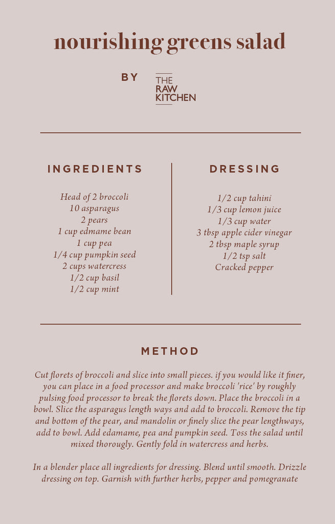 The Raw Kitchen Recipe