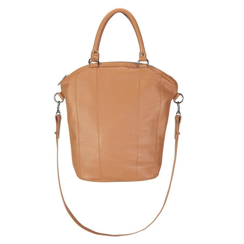 Some Secret Place Leather Bag - Tan