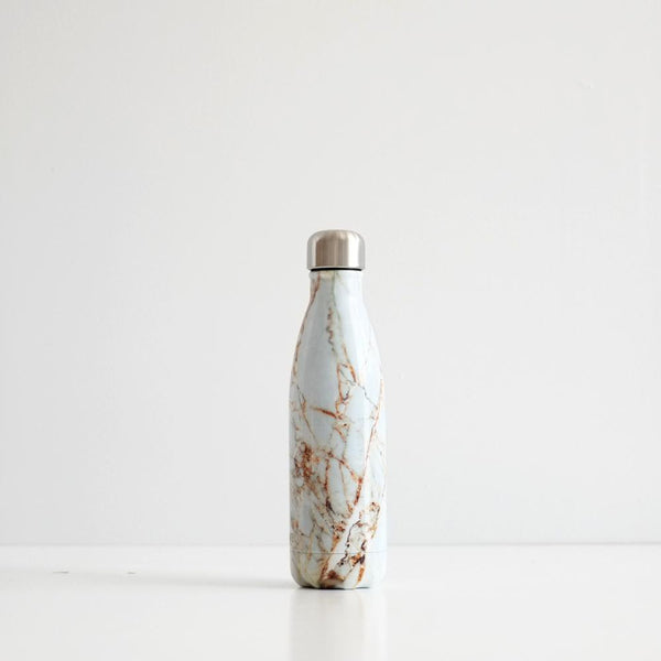 S'Well 500ml Stainless Steel Bottle - Calacatta Gold