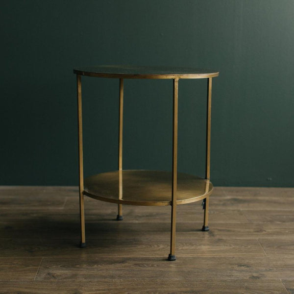 Benny Table - Aged Soft Bronze