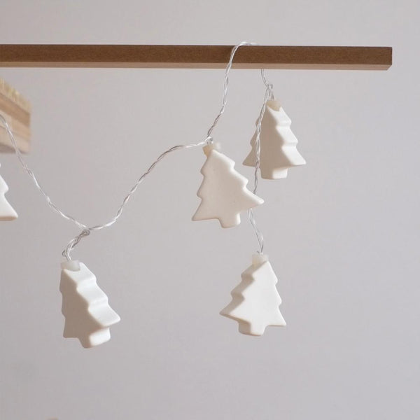 LED Porcelain Tree Garland