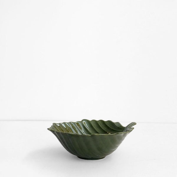 Aster Leaf Bowl - Green