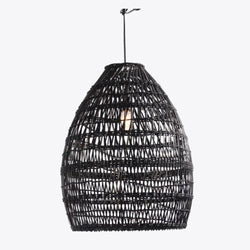 Firth Large Lamp - Black Wash