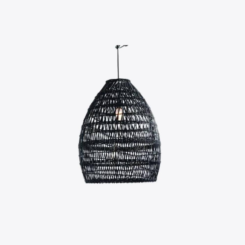 Firth Small Lamp - Black Wash