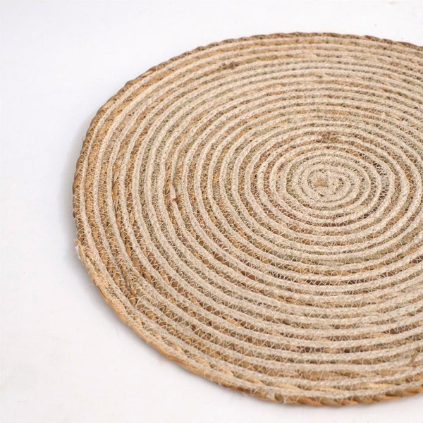 Round Placemat - Antique White