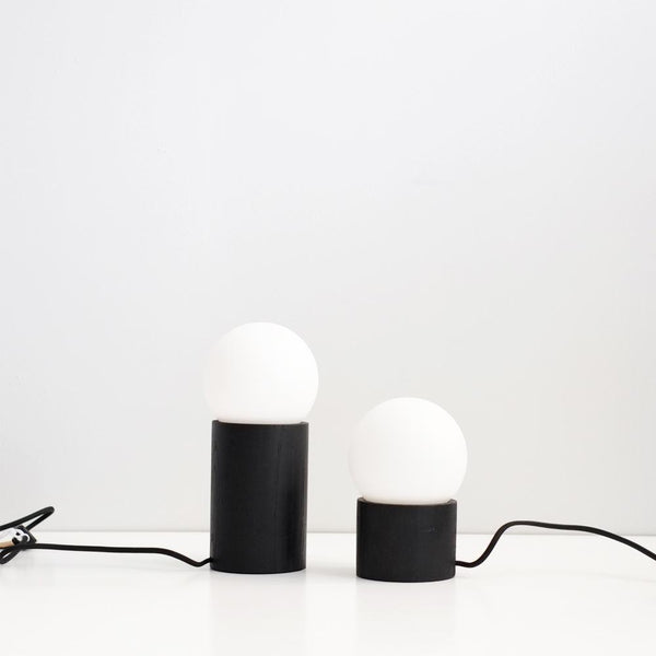 Black Harley Lamp - Small