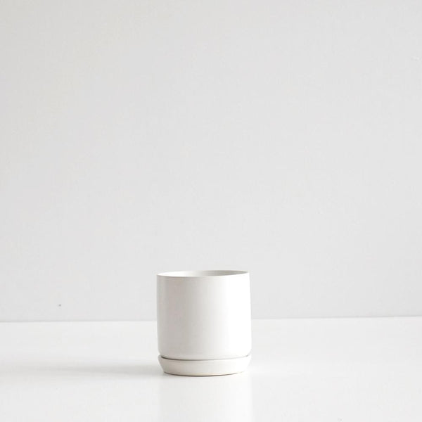 Oslo Planter Ice White - Small
