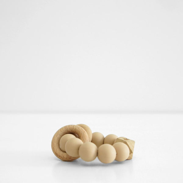 Essentials Teether - Camel Beige