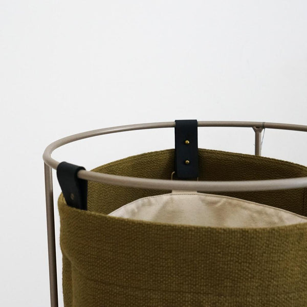 Laundry Basket - Ginger with Champagne Frame