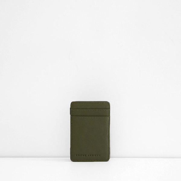 Men's Flip Wallet - Khaki