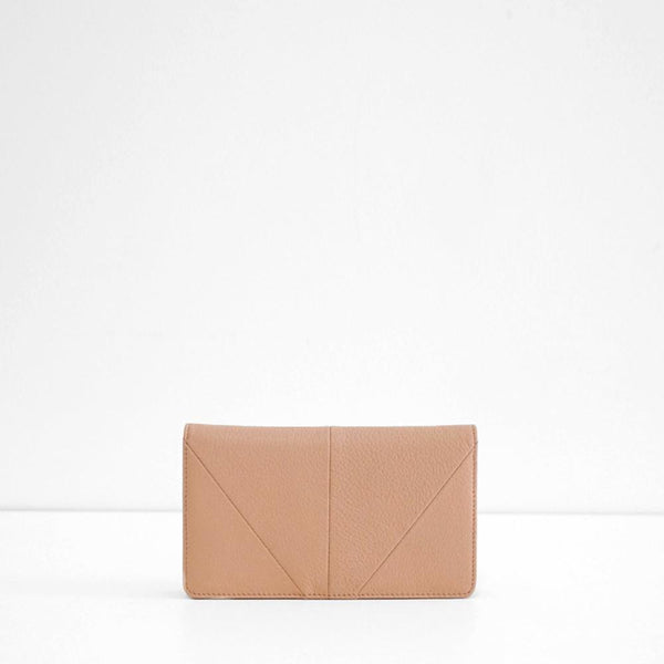 Triple Threat Wallet - Dusty Pink