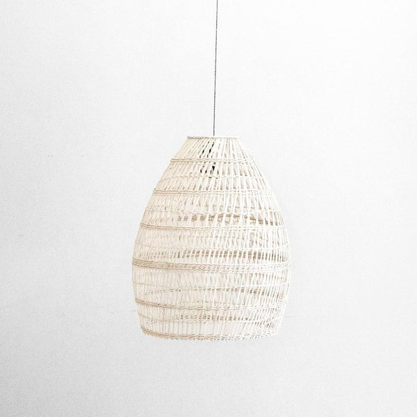 Firth Small Lamp - White Wash
