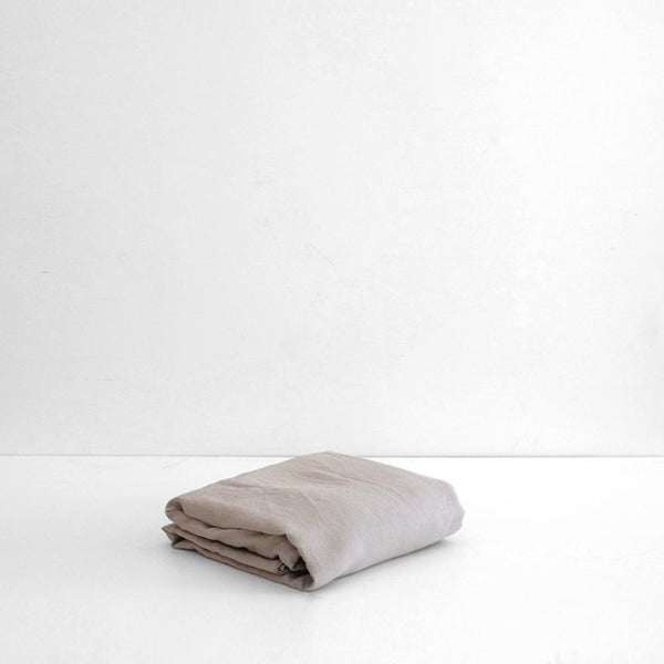 A&C Linen Sheet Set - Smoke Grey