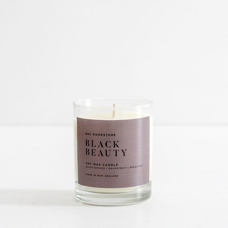 A&C Black Beauty Candle