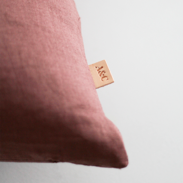 A&C Linen Cushion - Dusk