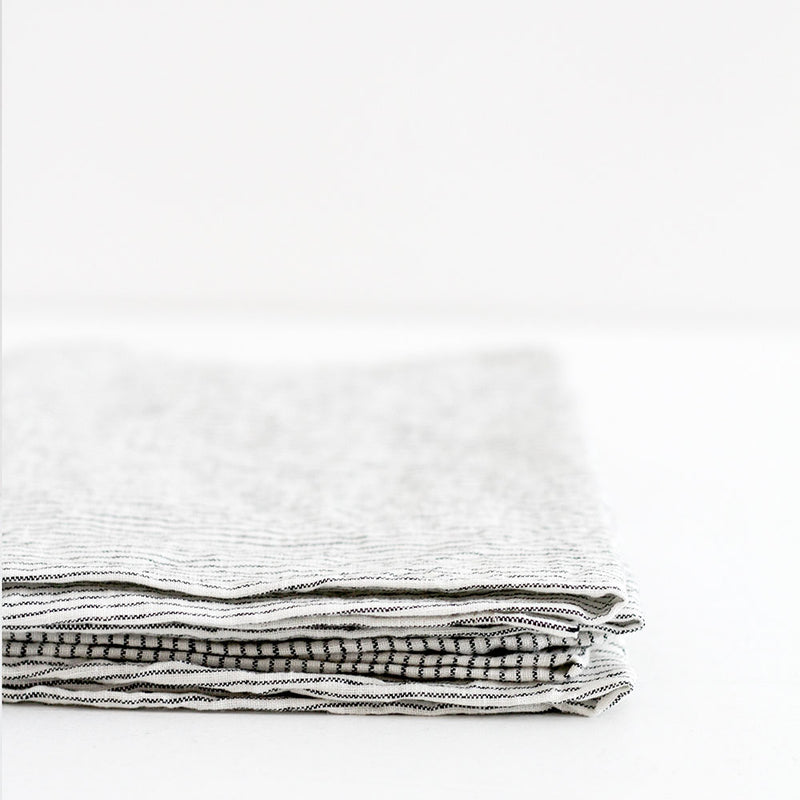 A&C Linen Napkin Set of 4 - Pinstripe