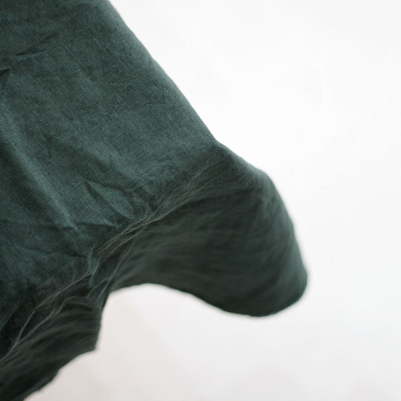 A&C Linen Table Cloth - Hunting Green