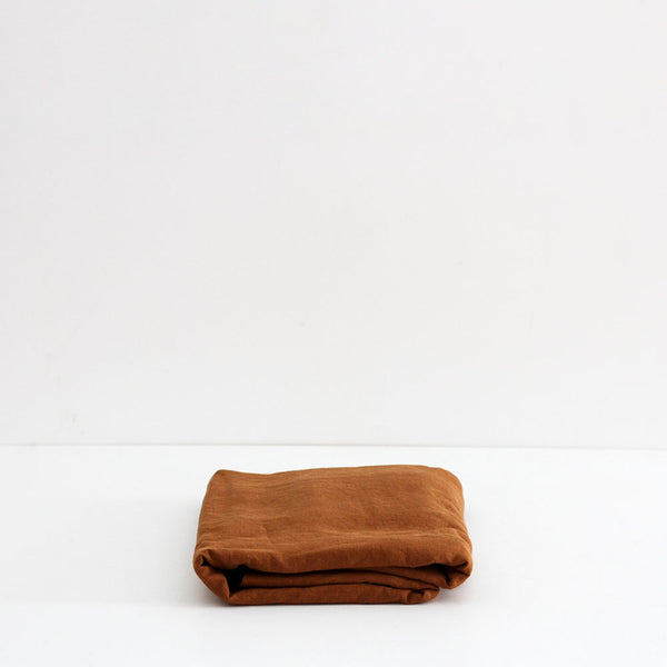 A&C Linen Table Cloth - Terracotta