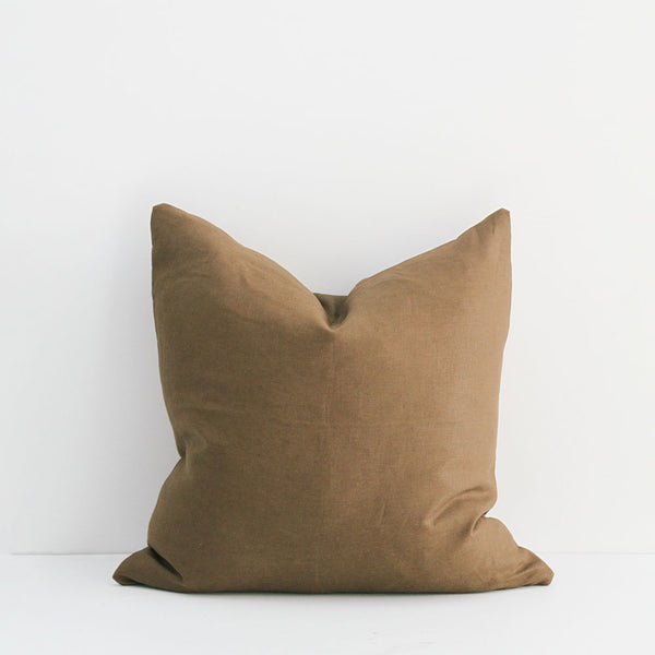 A&C Signature Linen Cushion - Willow