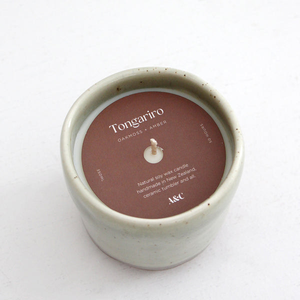 A&C Handmade Soy Candle - Tongariro