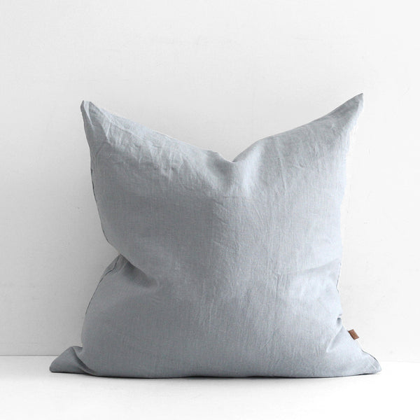 A&C Large Linen Cushion - Mist