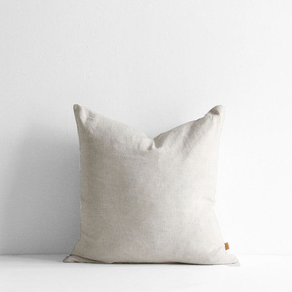 A&C Linen Cushion - Natural