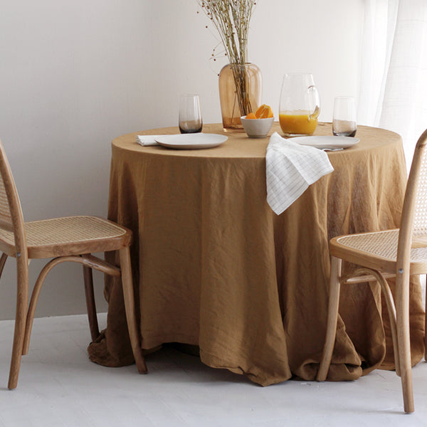 A&C Linen Table Cloth - Chai
