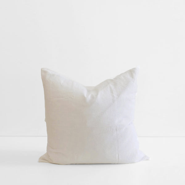 A&C Flax Linen Euro Pillowcase - Ivory