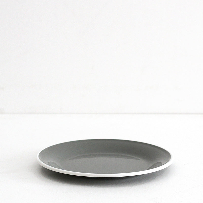 Adventure Plate - Grey/White