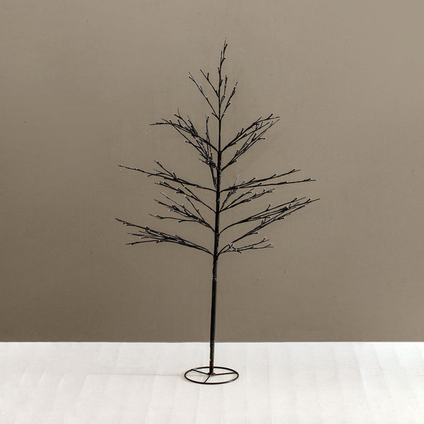 Alex Tree 1.2m - Brown/ Snowy