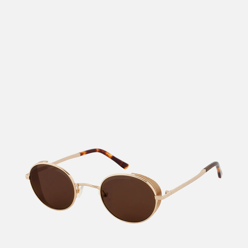 Amber Sceats Lauri Glasses - Brown/Gold
