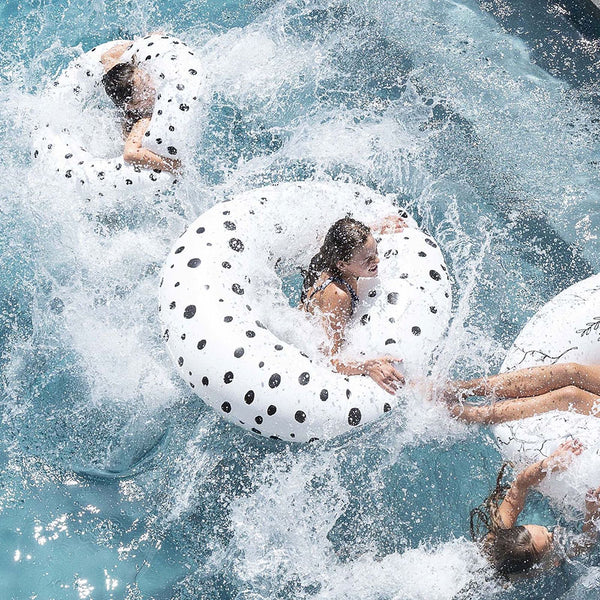 Oversized Pool Float - Bubble White