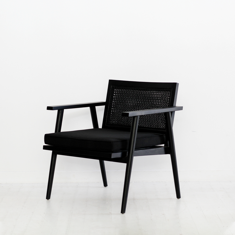 Anja Occasional Chair - Black