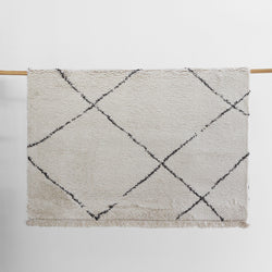 Argento Floor Rug - Cream / Grey