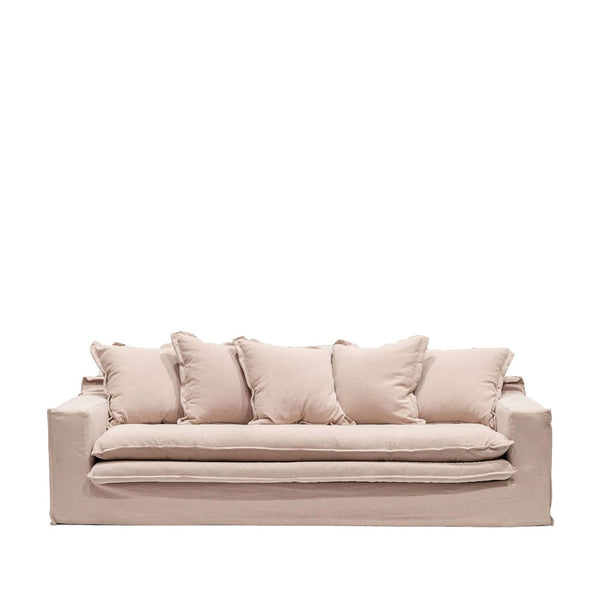 Asher Slipcover Sofa - Blush