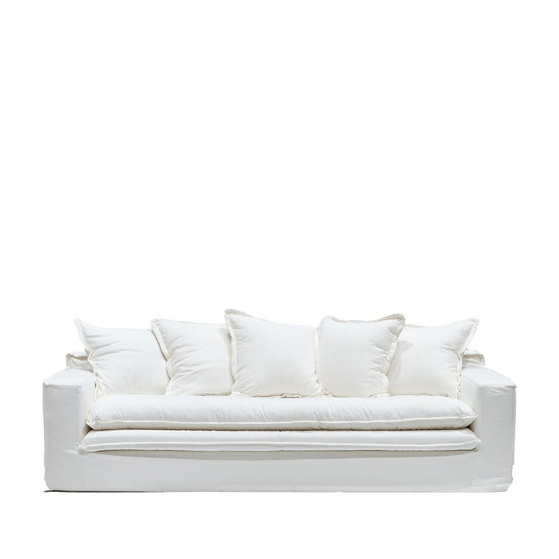 Asher Slipcover Sofa - White
