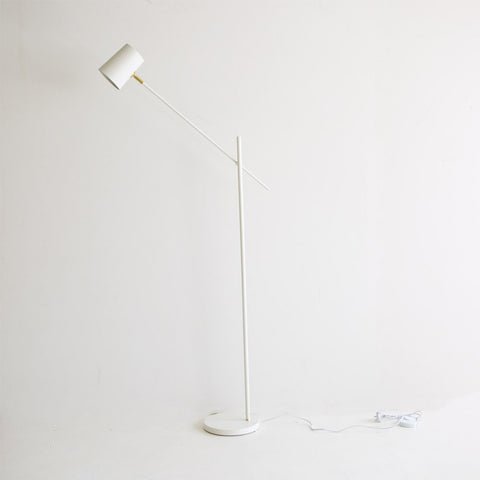 Austin Floor Lamp- White