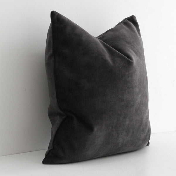 Ava Cushion - Coal