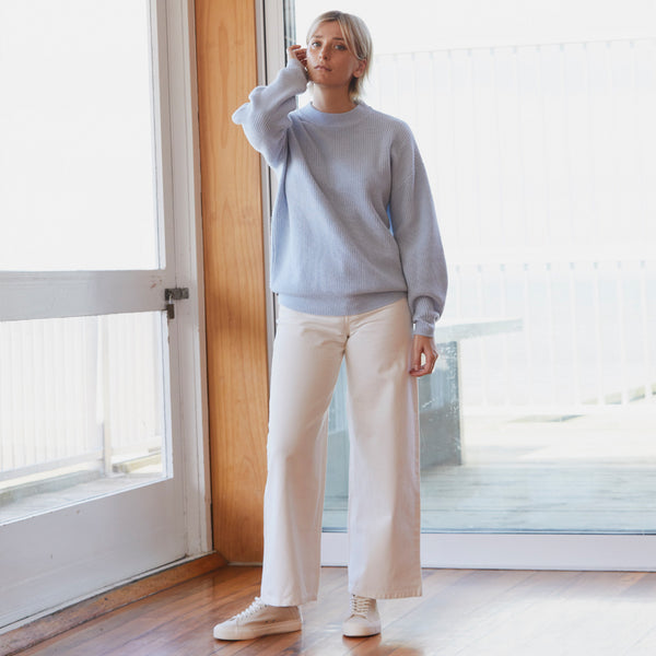 Awatea Sweater - Powder Blue