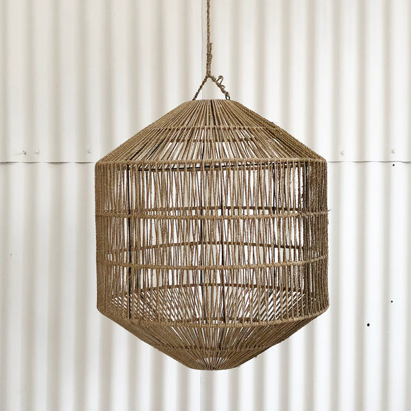 Azin Jute Octagonal Light - Natural