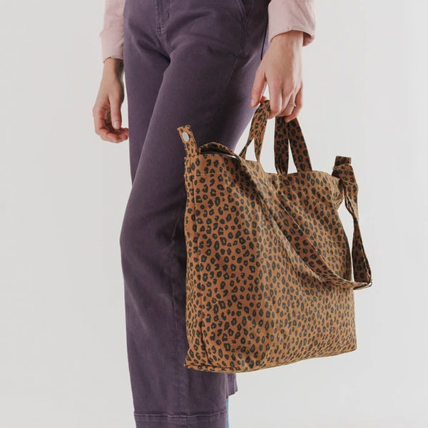 Horizontal Duck Bag - Leopard Nutmeg