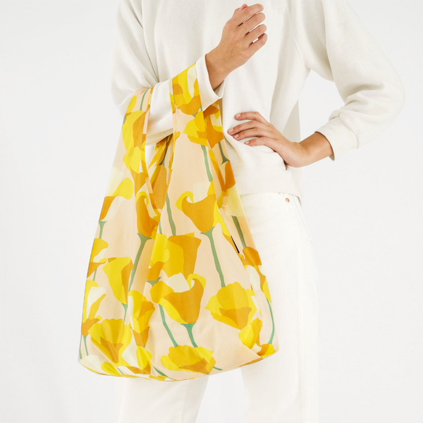 Golden Poppy Reusable Bag