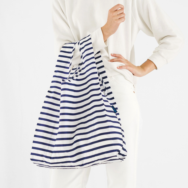 Sailor Stripe Reusable Bag