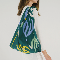 Seaweed Green Reusable Bag
