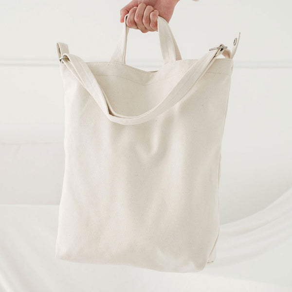 Duck Bag - Natural Canvas