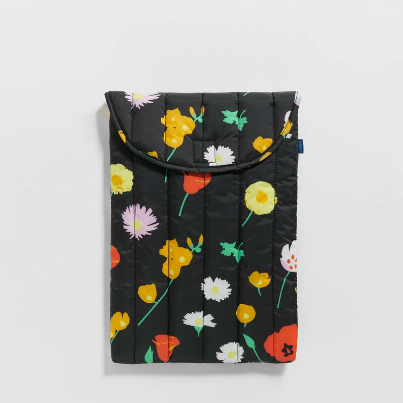 "Puffy Laptop Sleeve 16"" - Desert Wildflower"