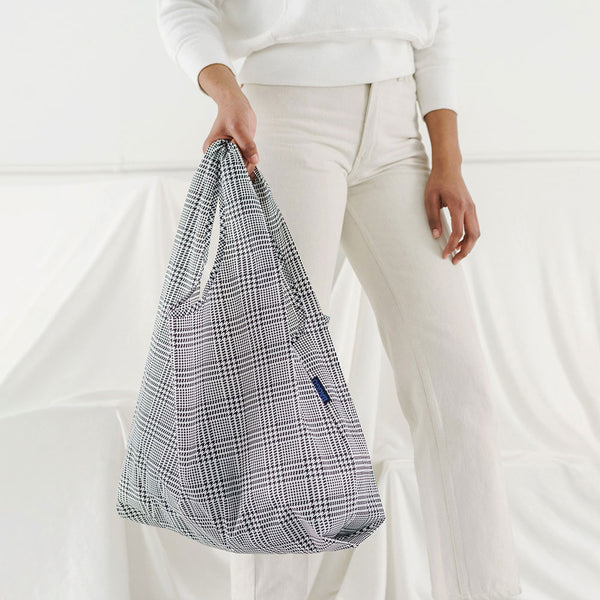 Glen Plaid Reusable Bag